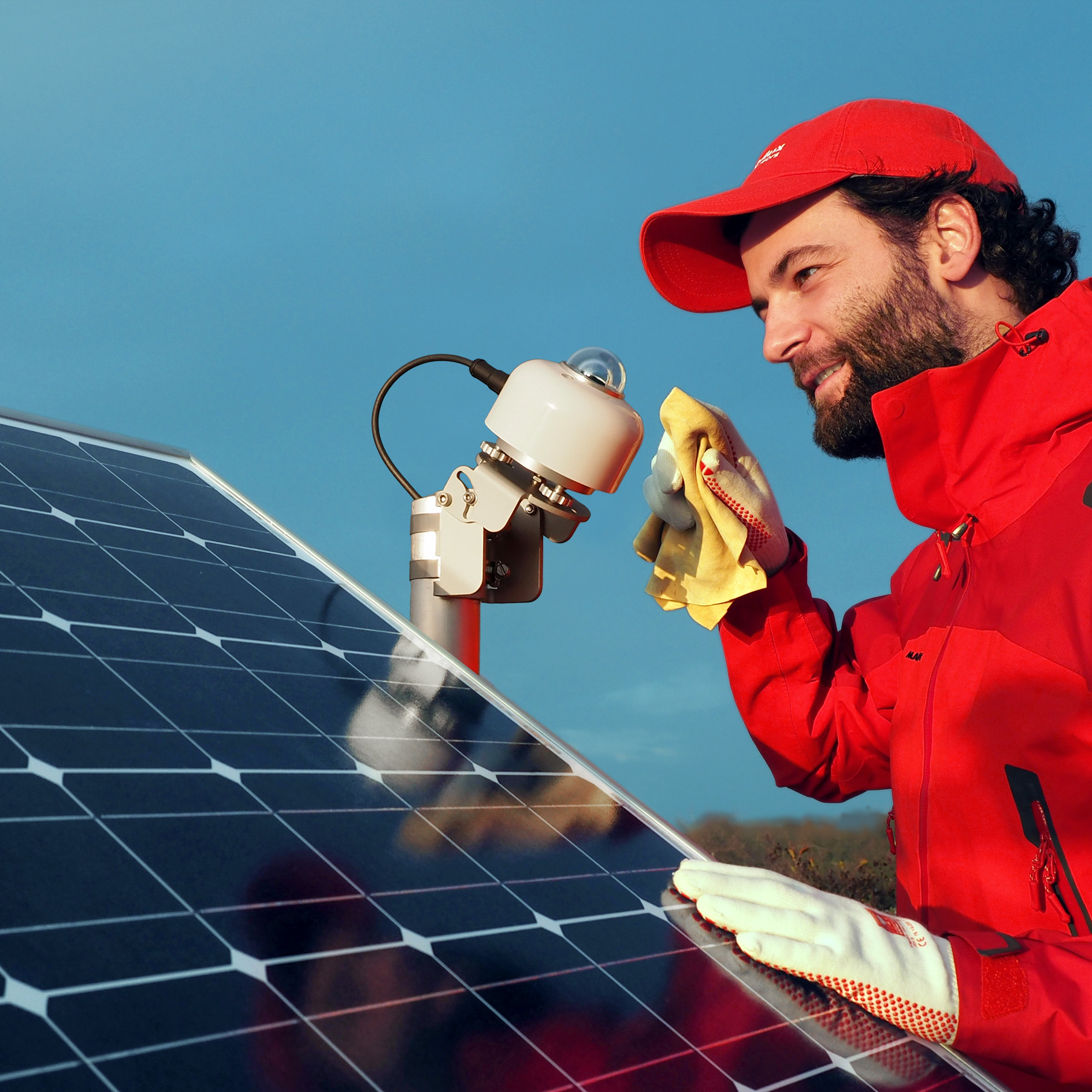 pyranometers can be used to monitor the performance of photovoltaic systems