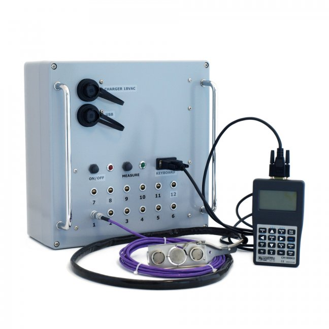 ALUSYS heat flux measuring system