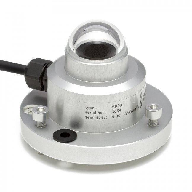 SR03 fast response second class pyranometer
