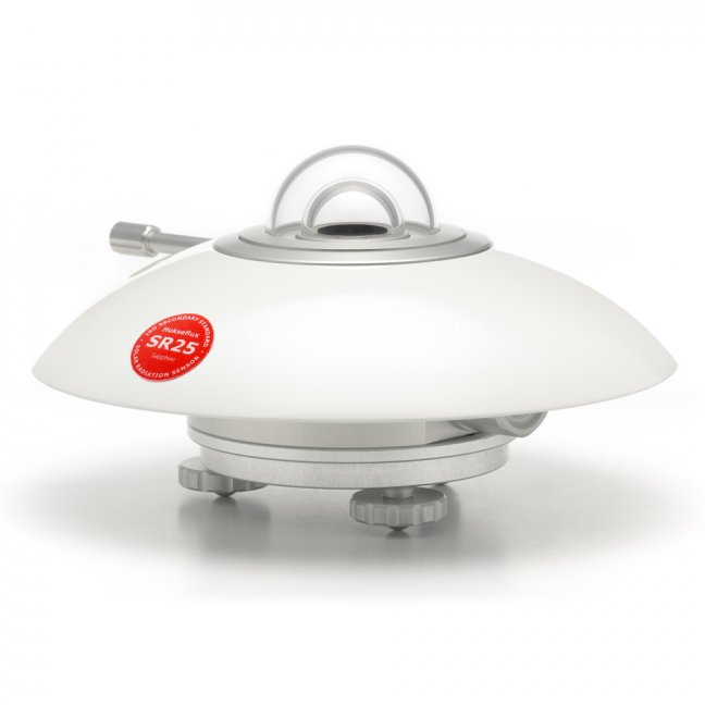 SR25 spectrally flat Class A pyranometer with sapphire outer dome