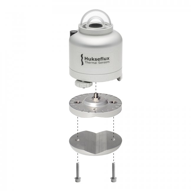 SR30 pyranometer with tube levelling mount for easy installation