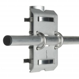 Crossarm mounting fixture for pyranometers, albedometers and net radiometers